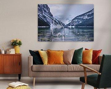 Het meer van Louise Splash van Graham Forrester