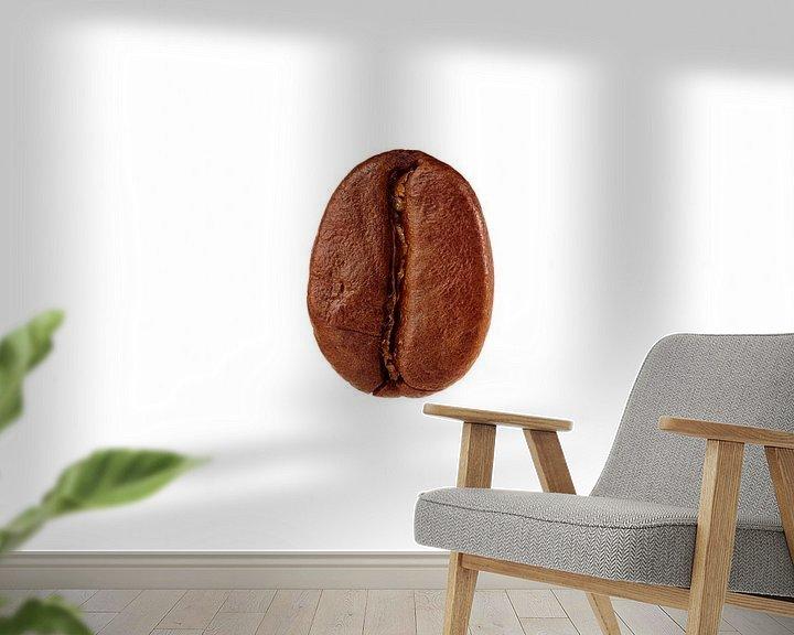 Sfeerimpressie behang: Koffieboon van Graham Forrester