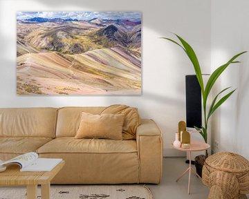 Regenboog bergen van Joost Potma