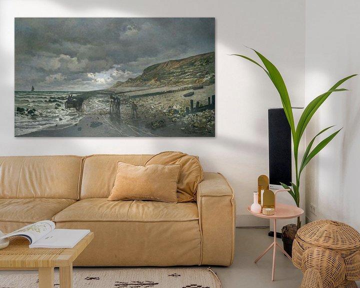 Beispiel: La Pointe de la Hève bei Ebbe, Claude Monet