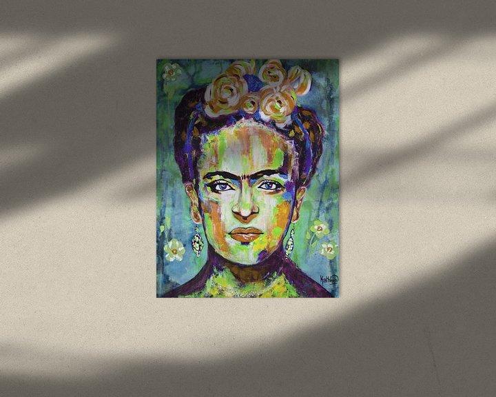 """Beispiel: Frida """"Blumen von Kathleen Artist Fine Art"""