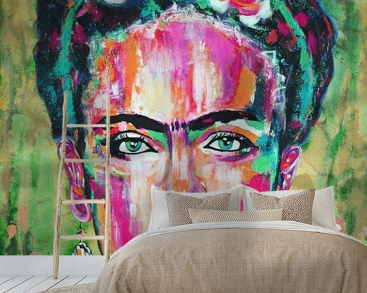 """Beispiel fototapete: Frida """"Blumen von Kathleen Artist Fine Art"""