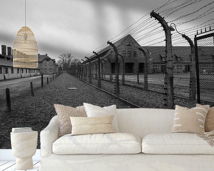 Sfeerimpressie behang: Opdat we nooit vergeten -03 van Marlies Gerritsen Photography