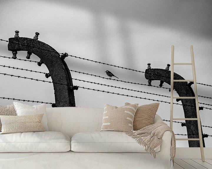 Sfeerimpressie behang: Opdat we nooit vergeten -08 van Marlies Gerritsen
