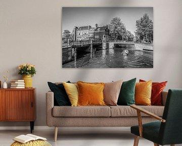 de Prinsengracht en de Leidsegracht van Ivo de Rooij