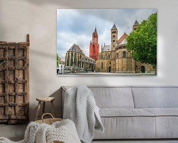 Het vrijthof in Maastricht van Ivo de Rooij