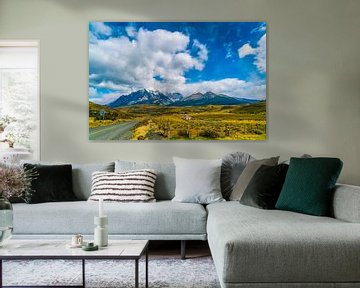 Torres-Del-Paine-Nationalpark von Ivo de Rooij