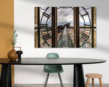 Een kijkje door de klok van de Domtoren (utrecht) van Jeffrey Steenbergen