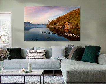 Bootshaus des Duke of Portland, Lake District von Adelheid Smitt
