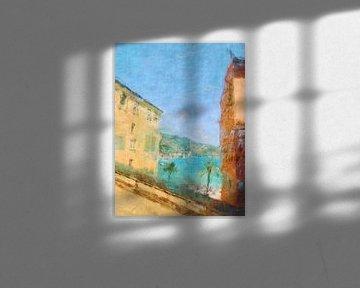 Menton Cote d´Azur van Joost Hogervorst