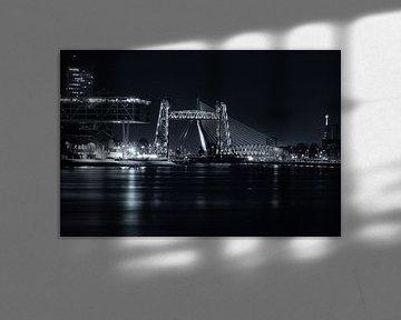 Rotterdam in Schwarz-Weiß von Vivo Fotografie