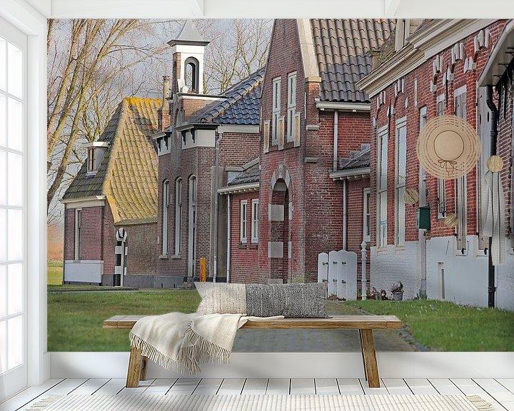 Impression: Façades le long du Sloteweg- Egmond aan de Hoef sur Ronald Smits