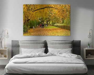 Herbst auf den Festungen von Ypern von Studio Kunsthart
