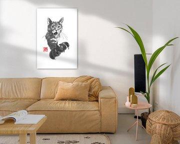 veeleisende kat van Péchane Sumie