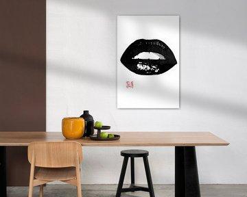 lippen van Péchane Sumie