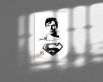 superman in het donker van Péchane Sumie