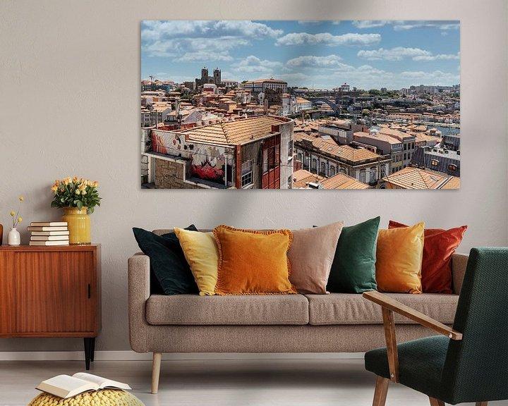 Sfeerimpressie: Daken van Porto I van Eddie Meijer