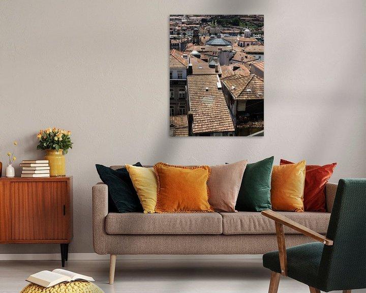 Sfeerimpressie: Daken van Porto II van Eddie Meijer