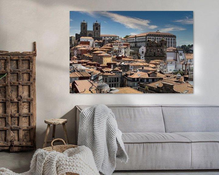 Sfeerimpressie: Daken van Porto III van Eddie Meijer