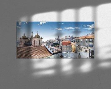 Vue aérienne de Porto