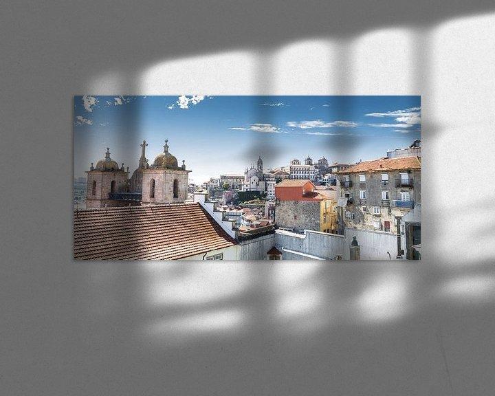Sfeerimpressie: Bird eye view Porto van Eddie Meijer