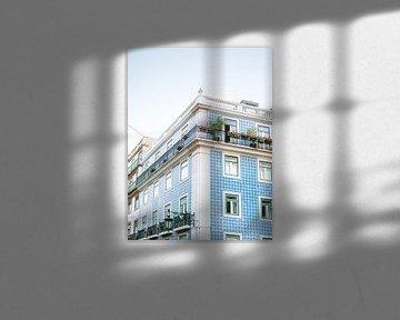 Architektur von Lissabon I von Raisa Zwart
