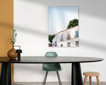 Von Lissabon träumen - Lissabon Portugal drucken von Raisa Zwart