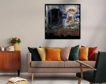 Welkom in het spookhuis - het blauwe gezicht van Christine Nöhmeier
