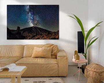 Melkweg Teide van Benjamin Ortmayr