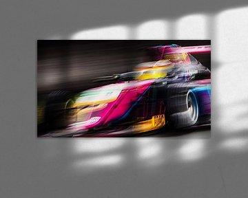 Abstract F4 Adac GT Masters Zandvoort Rennstrecke von Stefano Scoop