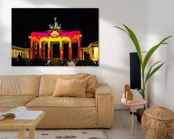 Brandenburger Tor in besonderem Licht von Frank Herrmann