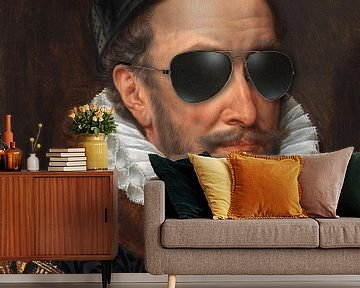 Willem I met zonnebril, prins van Oranje, Adriaen Thomasz. Key