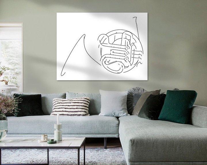 Sfeerimpressie: Hoorn Silhouet van Drawn by Johan
