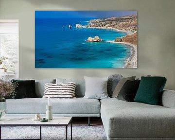 De zuidelijke kustlijn van Cyprus van Henk Meijer Photography