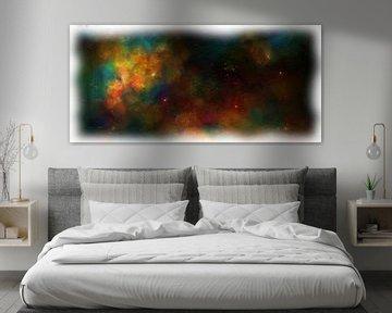 Abstrakter Fantasie-Nebel von Maurice Dawson