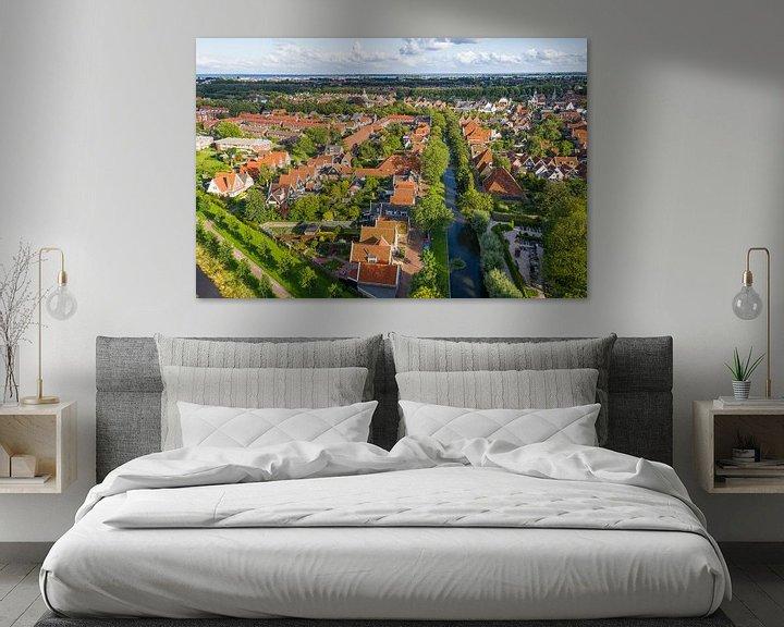 Sfeerimpressie: Luchtfoto Edam van Jeroen Kleiberg