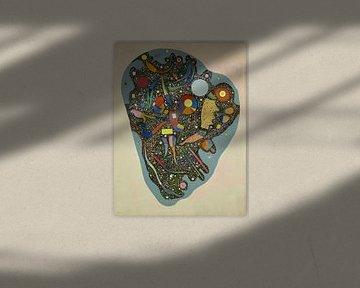 Regulierter Haufen, Wassily Kandinsky