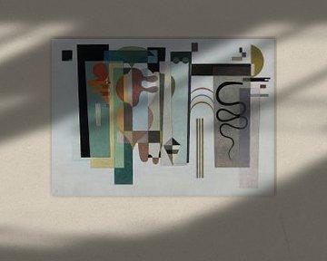 Zwei grüne Punkte, Wassily Kandinsky