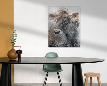 Vache Jersey sur Peter van Loenhout