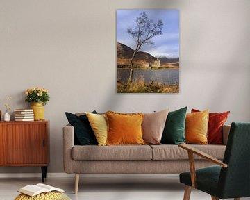 Kilchurn Castle, Schotland van Bob Slagter