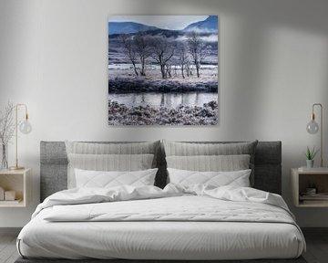 Winters landschap, Schotland van Bob Slagter