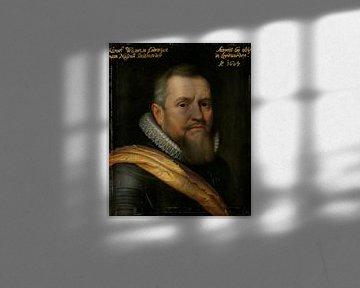 Porträt des Grafen William-Louis von Nassau, Michiel Jansz van Mierevelt