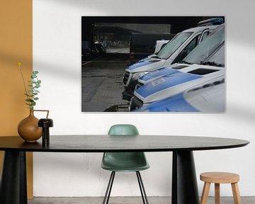 Bundespolizei Fahrzeuggruppenbild von mz.einsatzfahrzeuge
