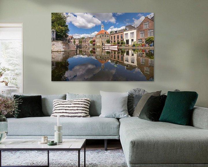 Sfeerimpressie: Zomer bij het Zakkendragershuisje in Schiedam van Charlene van Koesveld