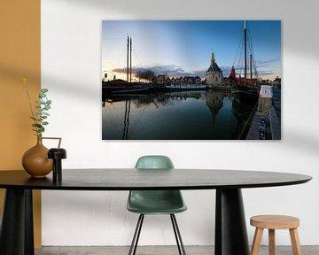 Le port de Hoorn sur Esther Seijmonsbergen