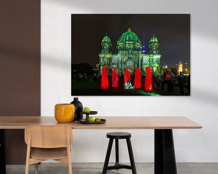 Sfeerimpressie: De Berlijnse Dom in een bijzonder licht van Frank Herrmann