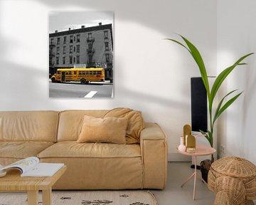 Schoolbus in New York van Gert-Jan Siesling
