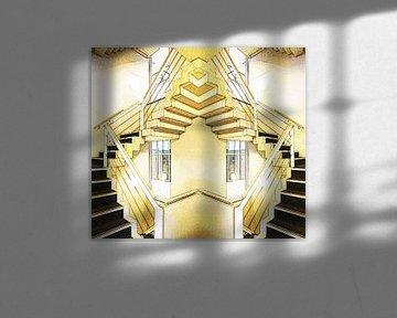 Knipoog naar Escher von Fred Vester