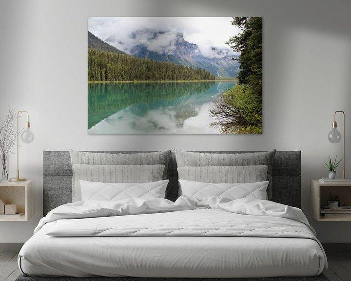 Sfeerimpressie: Emerald Lake in Canada van Map of Joy