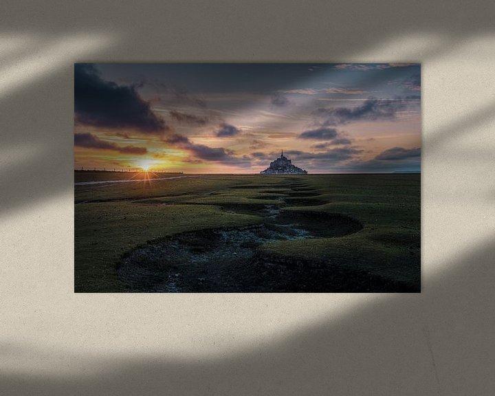 Sfeerimpressie: Le Mont saint Michel van Rob Visser